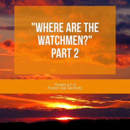 Where are the Watchmen Part 2