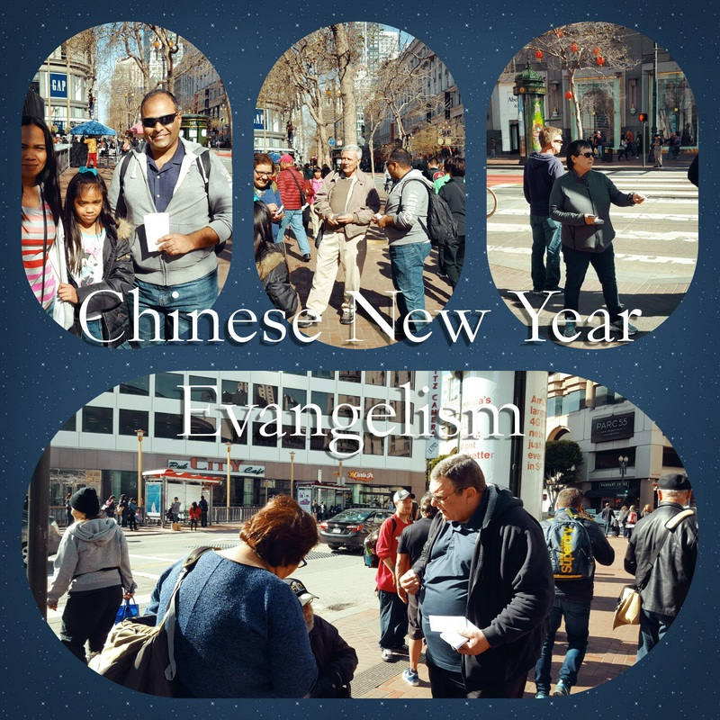 Chinese New Year Evangelism