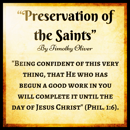 Preservation of the Saints